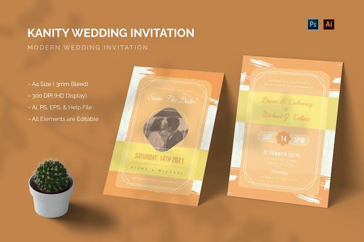 Kanity - Wedding Invitation