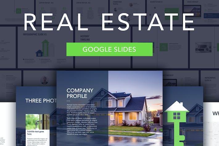 Thumbnail for Real Estate Google Slides Template