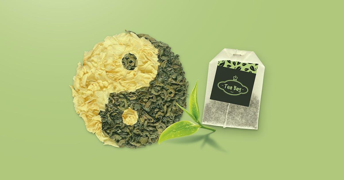 Download Tea Bag Mock-Up by StreetD
