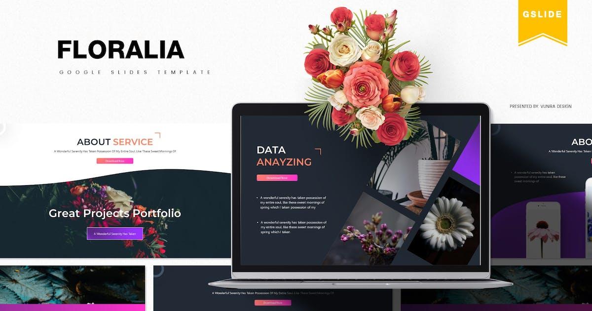 Download Floralia   Google Slides Template by gilang_senzana