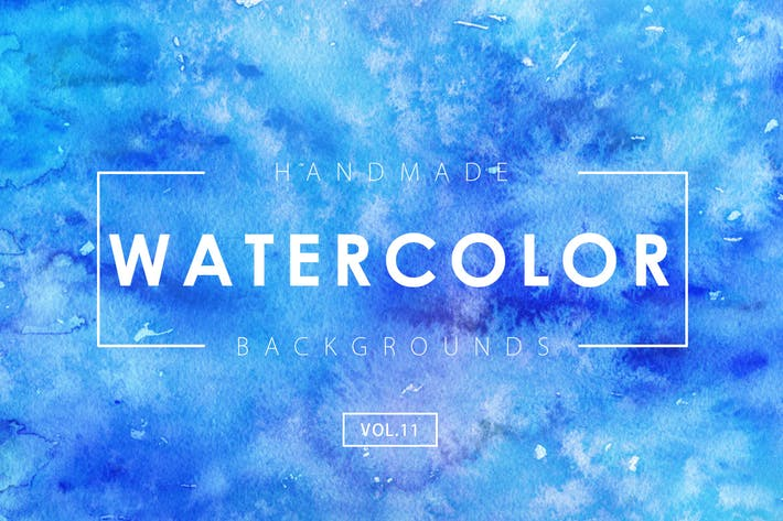 Thumbnail for Handmade Watercolor Backgrounds Vol.11