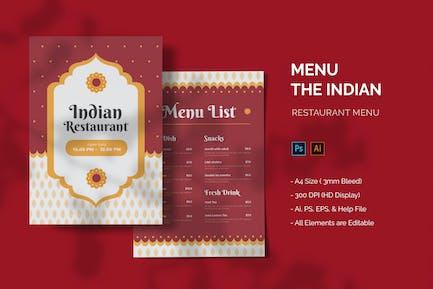 Indian - Restaurant Menu