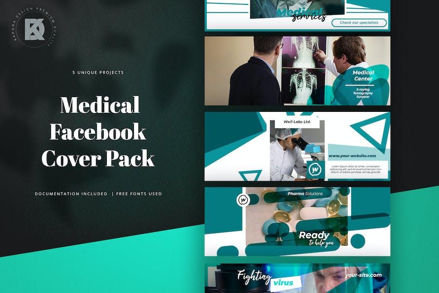 Medical Facebook Cover Pack