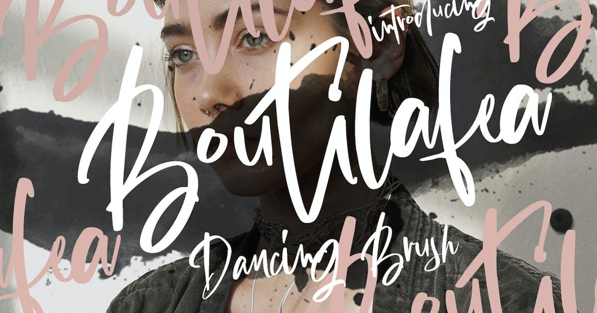 Download Boutilafea - Beautiful Signature Fashion Script by dirtylinestudio