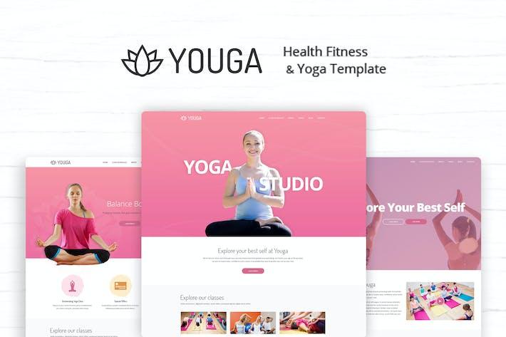 Cover Image For Youga - Yoga Studio