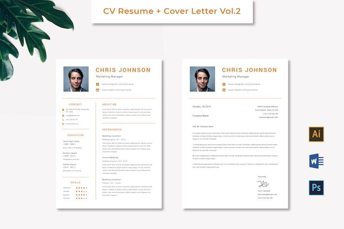 Thumbnail for CV Resume Vol.2