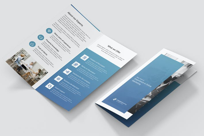 Thumbnail for Brochure – Creative Marketing Bi-Fold DL