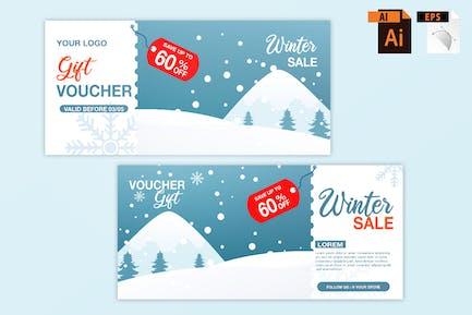 Bon de vente d'hiver