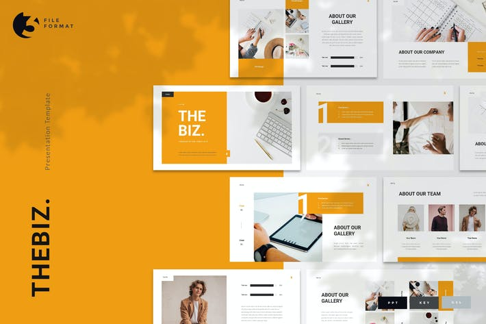 Thumbnail for Thebiz - Business Presentation Template