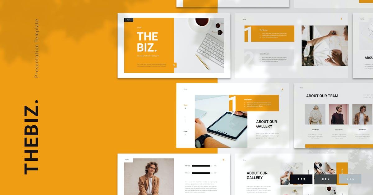 Download Thebiz - Business Presentation Template by naulicrea