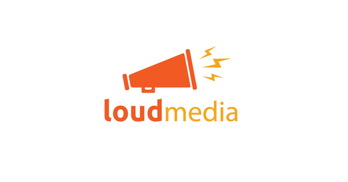 Download Loud media logo template by Be_Themes