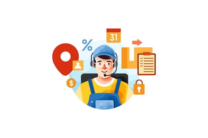 Customer Support via Phone Operator Service
