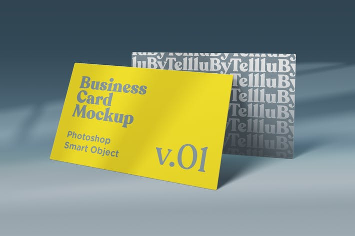 Thumbnail for Business Card Mockup v.01