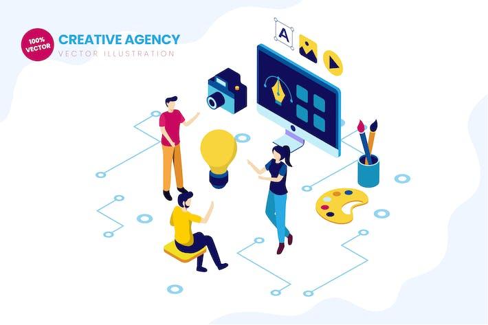 Изометрическое креативное Агентство