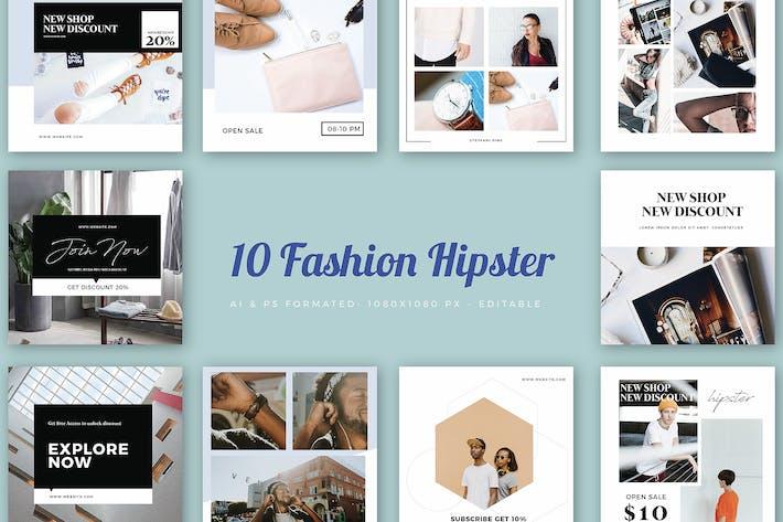 Instagram Fashion Hipster Banner - 01