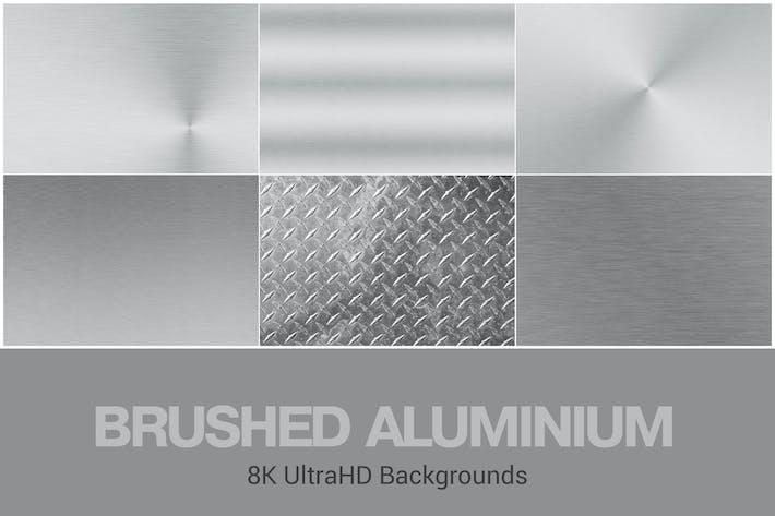 Thumbnail for Fondo de aluminio cepillado UltraHD 8K