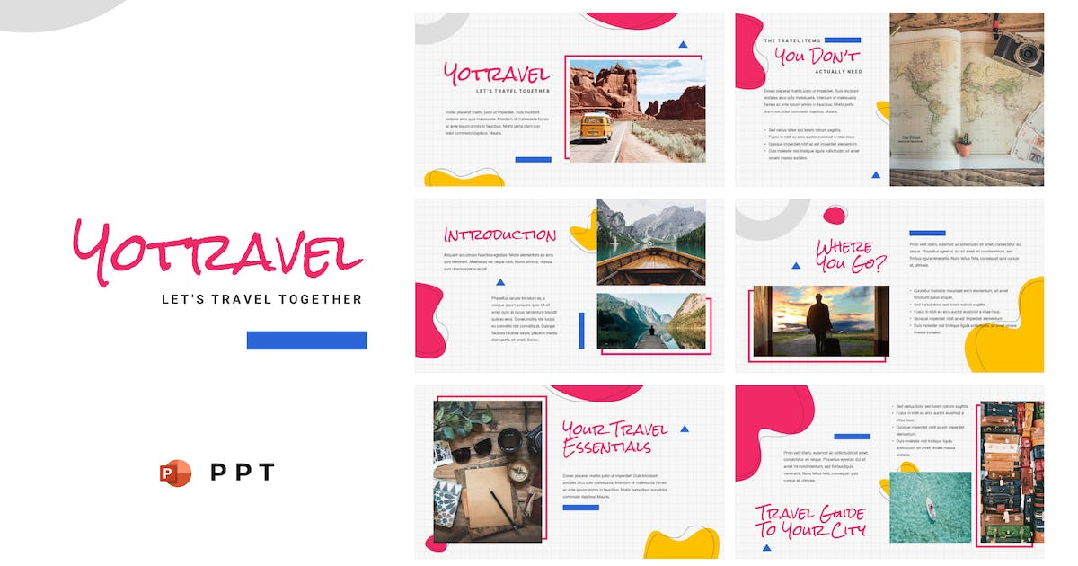 Download YOTRAVEL - Travel Powerpoint Template by inipagi