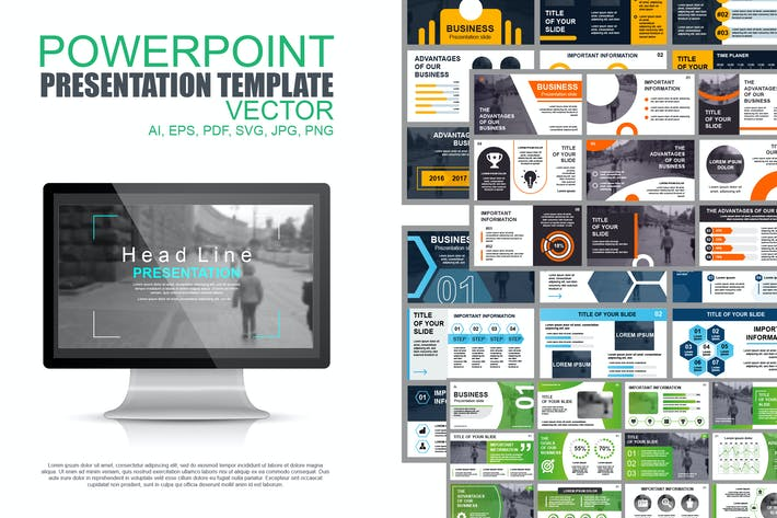 Thumbnail for Business Powerpoint Slide Templates