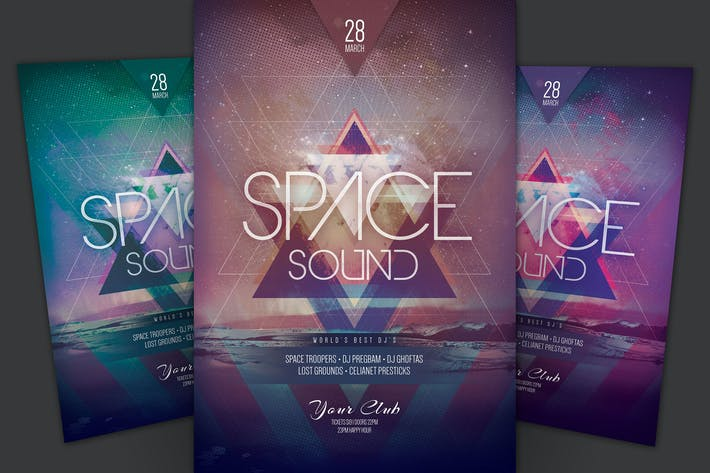 Thumbnail for Space Sound Flyer