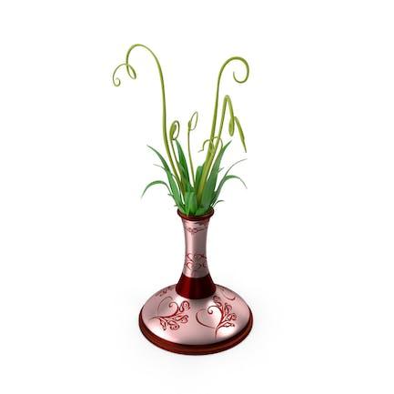 Flower Pot Vase Red Rose