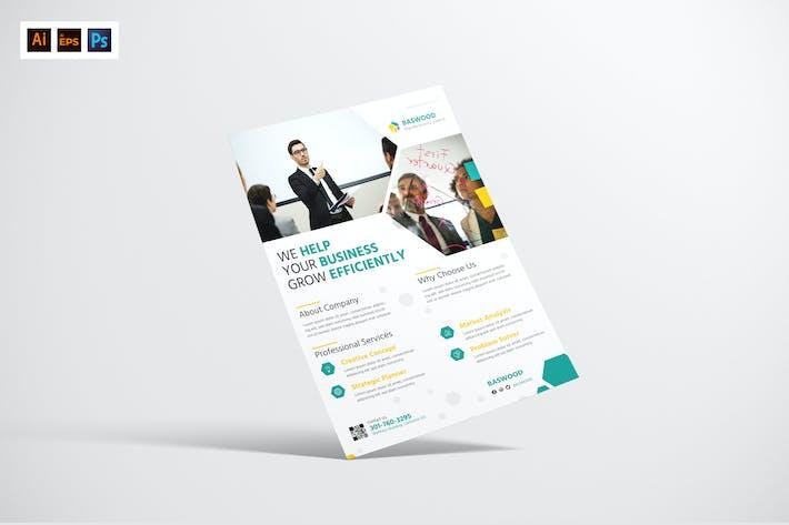 Thumbnail for Marketing Agency Flyer Design