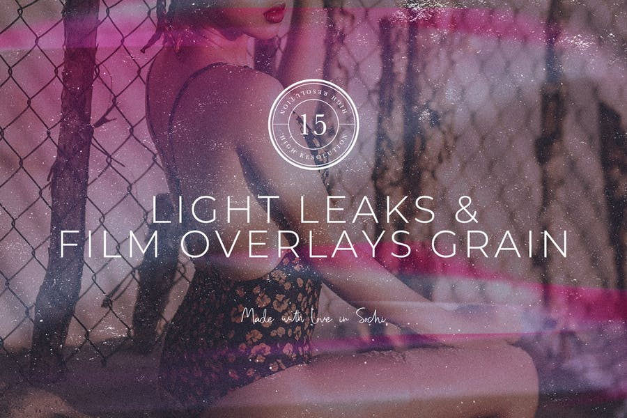 Light Leaks & Film Overlays Grain - product preview 7