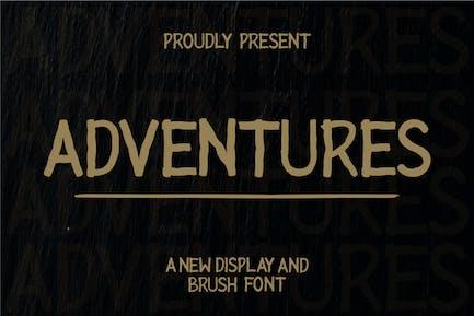 Adventures Dislay Font
