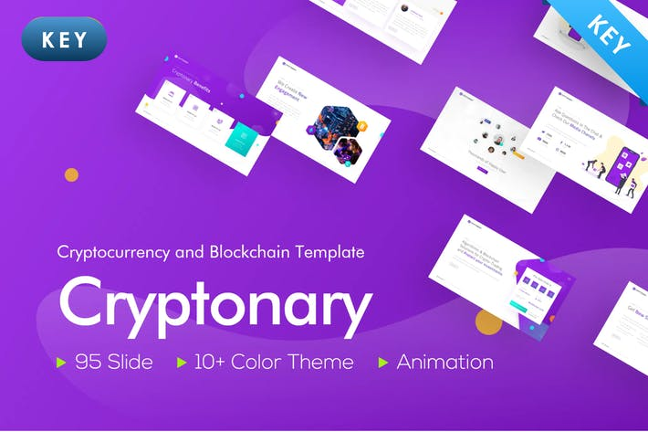 Thumbnail for Cryptonary Creative Keynote Template