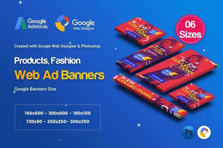 Thumbnail for C67 - Fashion Sale Banners GWD & PSD