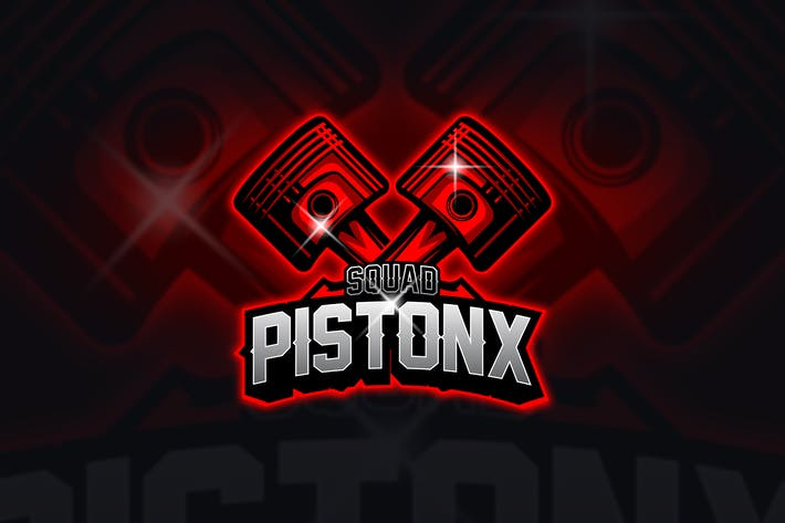 Thumbnail for Piston - Mascot & Esport Logo