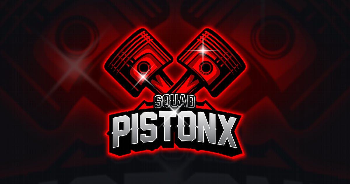 Download Piston - Mascot & Esport Logo by aqrstudio