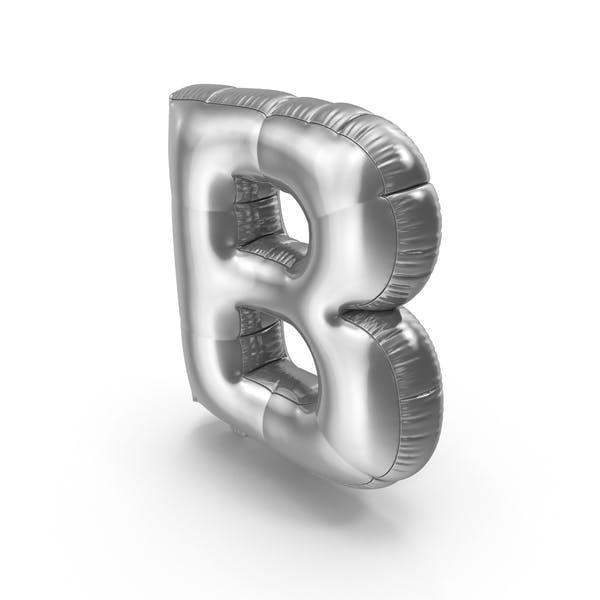 Thumbnail for Foil Balloon Letter B
