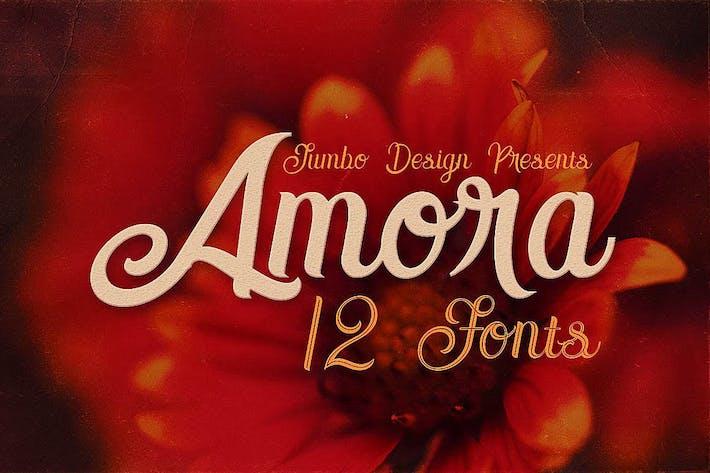 Thumbnail for Amora Script