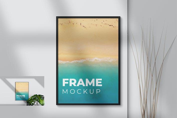 Thumbnail for Portrait Frame Mockup