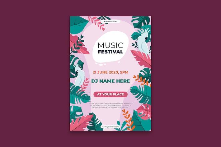 Thumbnail for Affiche du Festival de Musique