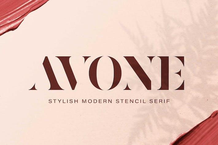 Thumbnail for AVONE - Elegante Con serifa