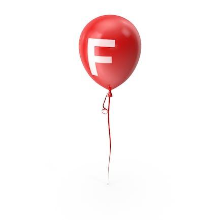 Буква F воздушный шар
