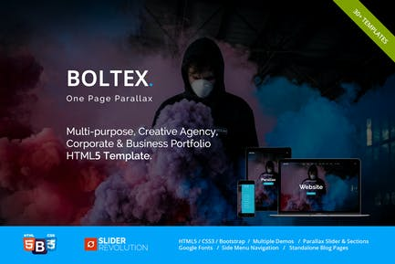 Boltex - One Page Parallax