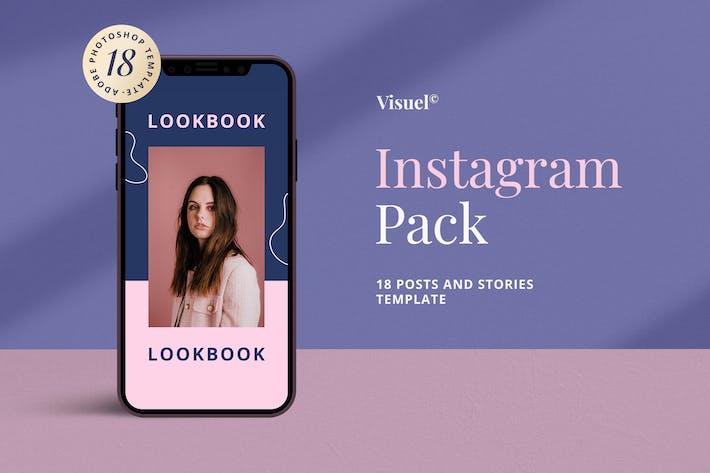 Thumbnail for Pop Style Instagram Pack