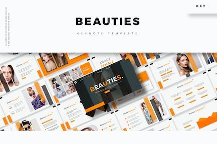Beauties - Keynote Template
