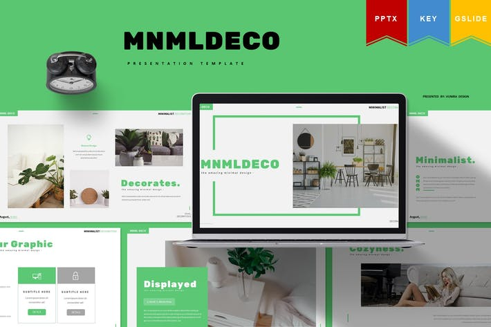 Thumbnail for Mnmldeco - Powerpoint, Keynote, Googleslides