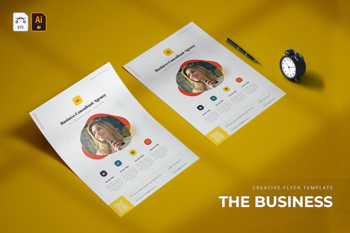 Thumbnail for Business Consultant | Flyer