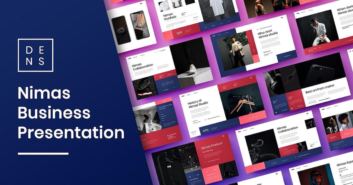 Download Nimas – Business PowerPoint Template by DensCreativeStudio