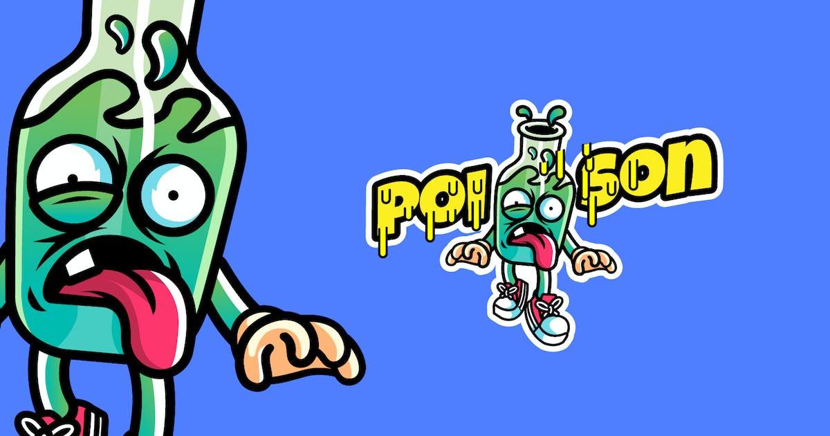 Download poison - Mascot & Esport Logo by aqrstudio
