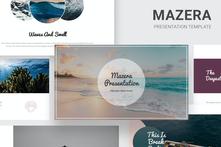 Thumbnail for Mazera - Learning About Ocean Google Slides