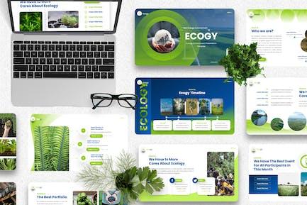 Ecogy - Ecology & Environment Keynote Template
