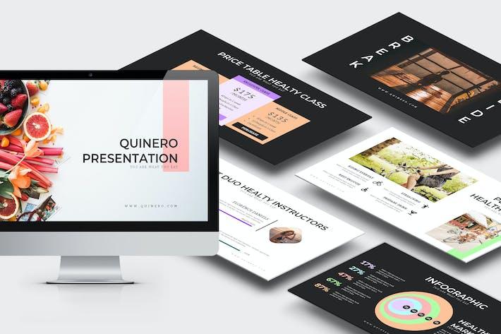 Quinero: Здоровый органический образ жизни Google слайды