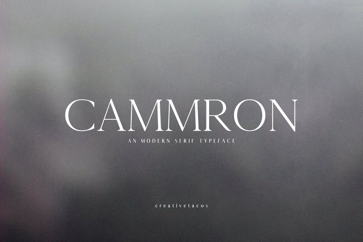 Thumbnail for Cammron Serif Font Family