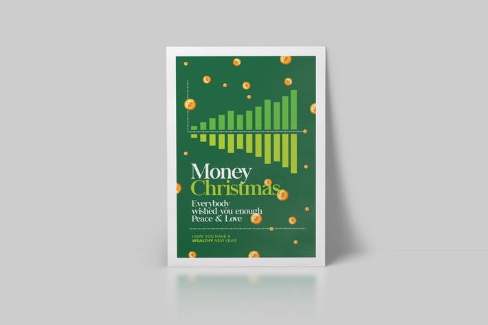 Thumbnail for Minimal Money Christmas Flyer
