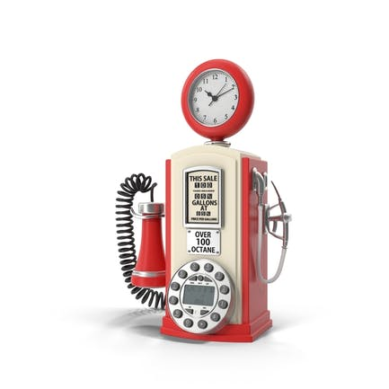 Teléfono de diseño de la estación de servicio